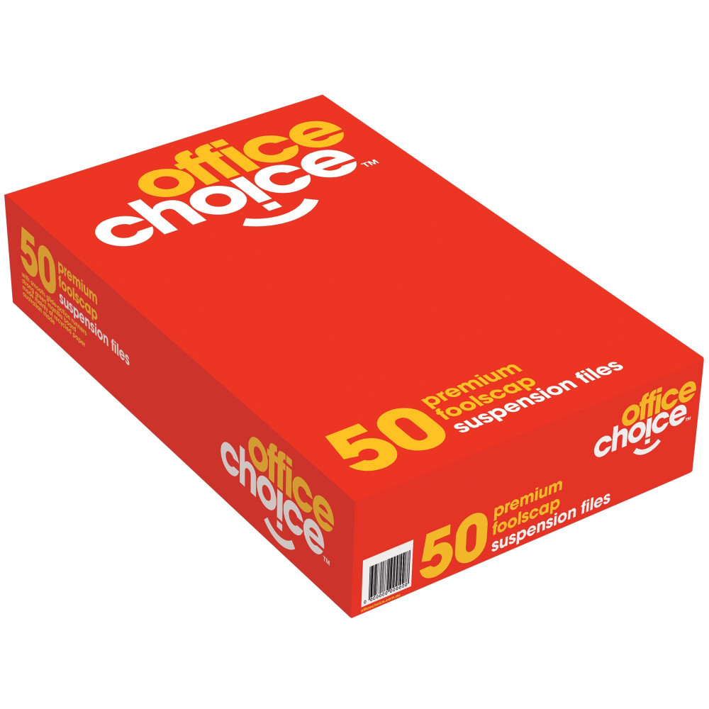 OFFICE CHOICE SUSPENSION FILES F/C 100% Recycled Complete