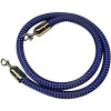 Visionchart Barrier Rope Blue with Chrome Ends 1.5m