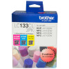 BROTHER LC133CL3PK VALUE PACK Cyan, Magenta, Yellow