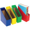 Marbig Book Boxes Small 9wx25dx27h cm Blue Pack Of 5