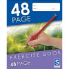 Sovereign Exercise Book 225x175mm 8mm Ruled 48 Page