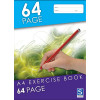 Sovereign Exercise Books A4 8mm Ruled 64pg