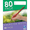 Sovereign Exercise Book 225x175mm 8mm Ruled 80 Page