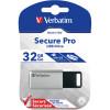 VERBATIM STORE 'N' GO USB Encrypted 32GB Silver