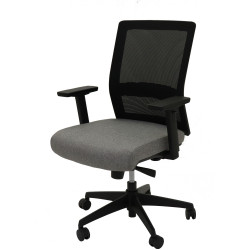 RAPIDLINE GESTURE CHAIR Black/Grey