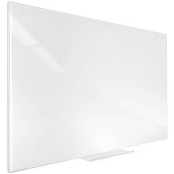 Visionchart Accent Glass Whiteboard 900x600mm White