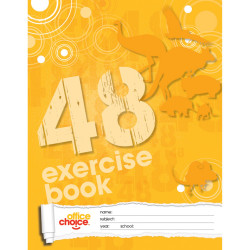 OFFICE CHOICE EXERCISE BOOK 225x175 48pg