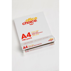 OFFICE CHOICE SHEET PROTECTORS A4 Heavy Duty Copysafe