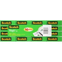 SCOTCH 810-16 MAGIC TAPE Multipack 19mmx25m
