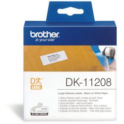 BROTHER LABEL PRINTER LABELS Std Address LGE 38X90mm White