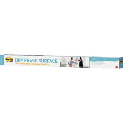 POST IT DRY ERASE SURFACE DEF8X4 2400x1200mm Whiteboard surface on a roll